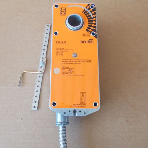 Belimo FSAF24A On/Off Control w/ Auxiliary Switch 24VAC 180 In-Lb - New