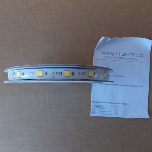 WAC Lighting LED-T2430L-5-WT InvisiLED LITE Tape Light, 5', Soft White - New