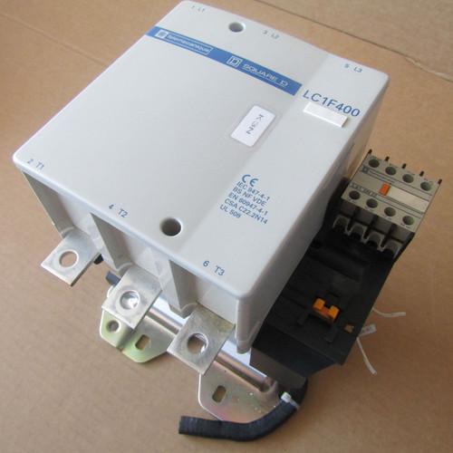 Telemecanique LC1F400 Contactor 3 Pole 600VAC 420 Amp LX4 FJ 300 Coil - Used