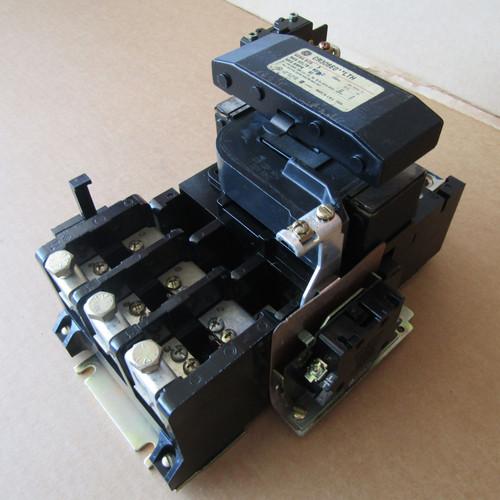 GE CR306E0**LTH Size 3 Magnetic Starter 3P 90A 600V 120V Coil - Used