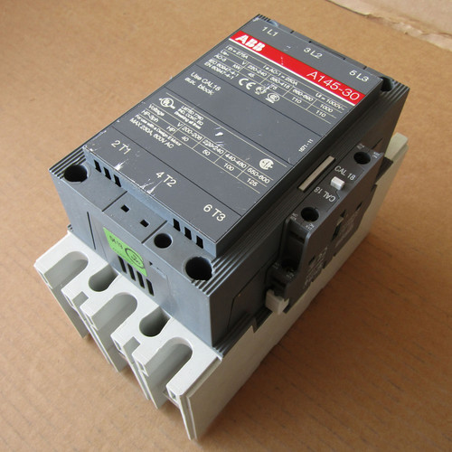 ABB A145-30 250 Amp 3 Pole 120 Volt Coil Magnetic Contactor - Used
