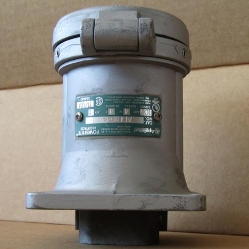 Appleton ADR1044 Powertite Receptacle 100A 600VAC 4P 4W - New Surplus