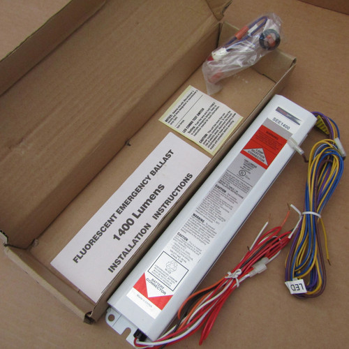 Best Lighting SEE1400 Fluorescent Emergency Ballast, 120/277V, 1400 Lumens - New