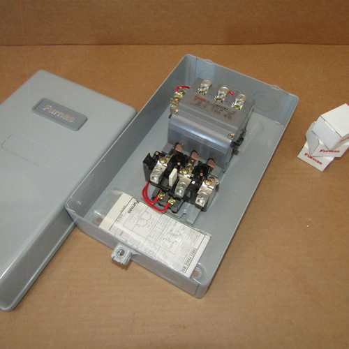 Furnas 14GP32BA Size 2-1/2 Magnetic Starter 3 PH 3 Pole 120/240V N1 - New