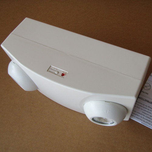 Exitronix LL50H-6-12 Series HIgh Capacity Emergency Lighting Unit - New