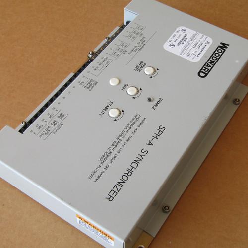 Woodward 9907-028 SPM - A Synchronizer Rev D - Used