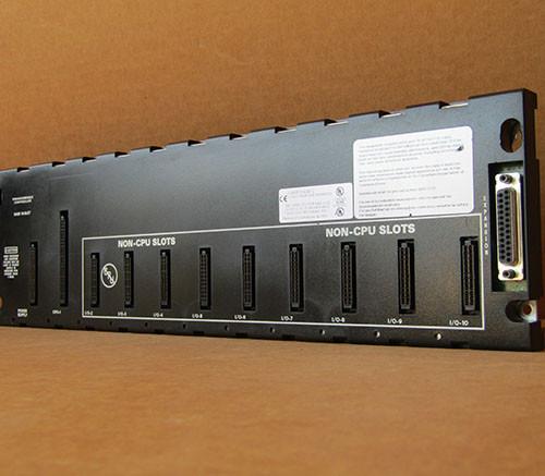 GE Fanuc IC693CHS391L Programmable Controller 10-Slot Base EMI Enhanced - Used