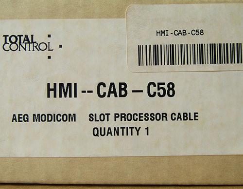 Total Control HMI-CAB-C58/G AEG Modicom Slot Processor Cable - New