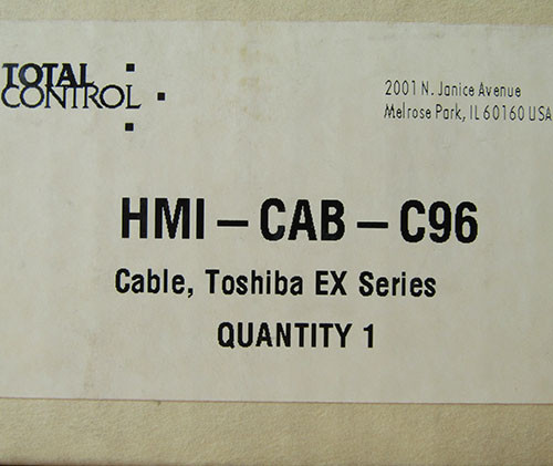 Total Control HMI-CAB-C96 Rev B Cable, Toshiba EX Series - New