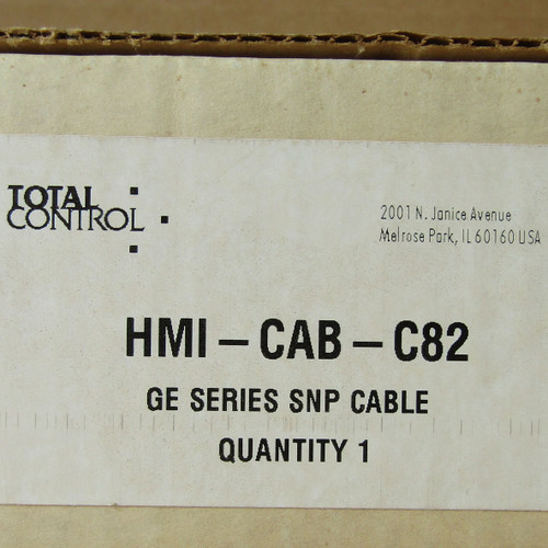 Total Control HMI-CAB-C82 Rev F GE Series SNP Cable - New