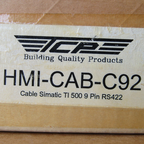 Total Control HMI-CAB-C92/A Cable Simatic TI 500 9 Pin RS422 - New