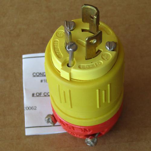 Ericson 1520-P Turnlock Plug Nema L5-15P - New