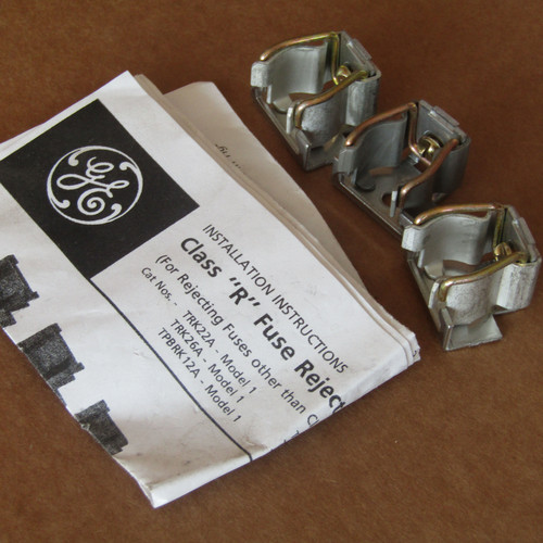 """General Electric TRK22A Fuse Kit Class """"R"""" 60A 240V """"QMR"""" - New"""