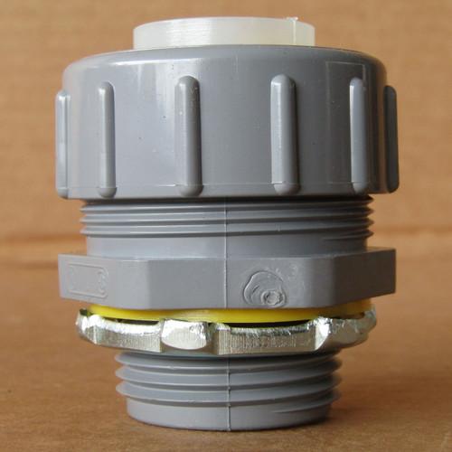 """Arlington NMLT100 1"""" Straight PVC Liquid-Tight Connectors UV Rated (Box of 5) - New"""