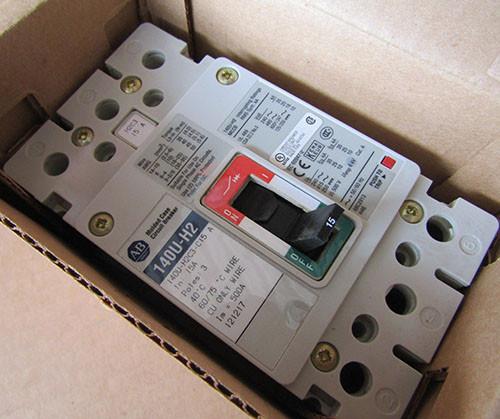 Allen-Bradley 140U-H2C3-C15 (A) 3P 15A 480V 25K MC Circuit Breaker - New