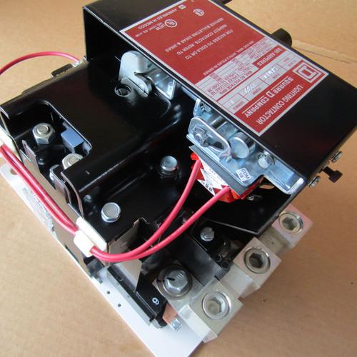 Square D 8903SXO14V02 Lighting Contactor 300A 600V 120V Coil - New