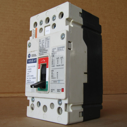 Allen-Bradley 140UE-H1C3-C80 3P 80A 480V 25K MC Circuit Breaker - New