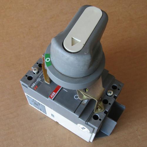ABB S1N SACE S1 3 Pole 100 Amp 240V Circuit Breaker w/ Handle - Used