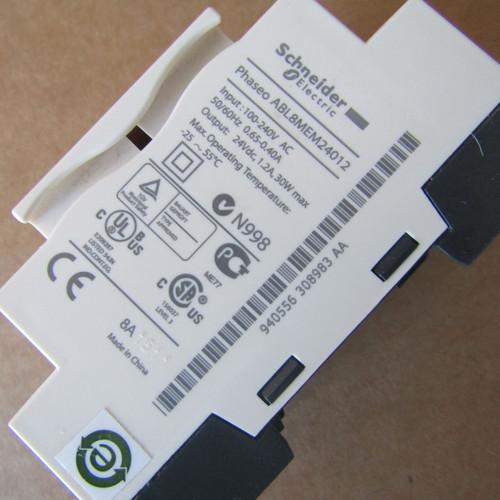 Schneider Electric ABL8MEM24012 Modular Power Supply 1.2A 100-240VAC 24VDC - New