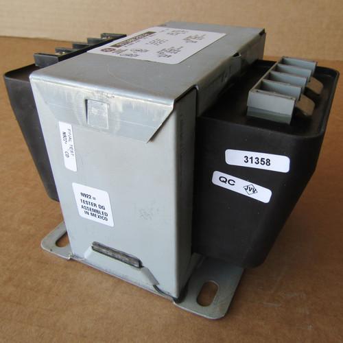 GE 9T58K2810- 0.50 KVA 240/480 to 120/240 Volt 1PH Transformer - Used