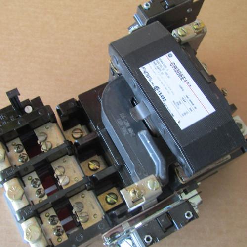 GE CR306E1** Size 3 Magnetic Starter 90A 600V 3P 120V Coil - Used