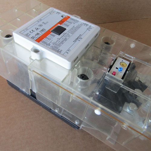Fuji Electric SC-N8[180] 3NC4Q Contactor 3PH 180A 100-127V Coil w/ Overload Relay - Used