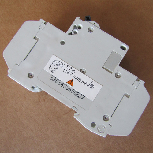 Schneider Electric 60123 D 5A C60 1 Pole 5 Amp 240V Multi 9 Circuit Breaker - New