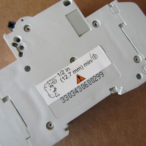 Schneider Electric 60129 D 15A C60 1 Pole 15 Amp 240V Multi 9 Circuit Breaker - New