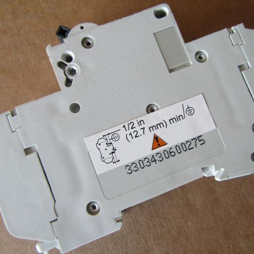 Schneider Electric 60127 D 10A C60 1 Pole 10 Amp 240V Multi 9 Circuit Breaker - New