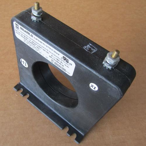 Square D 74RFT-1641-001 Current Transformer 1640:1 10kV 600V  - Used