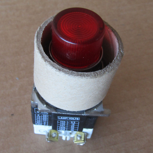 Eaton 10250T/91000T/E34 Pushbutton Illuminated Lens Red 120V - New