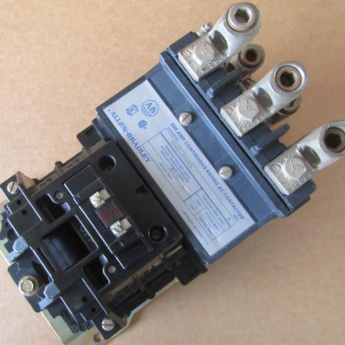 Allen-Bradley 500L-E0D93 Lighting Contactor 200 Amp 3 Pole 120VAC - Used