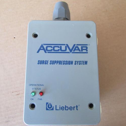 Liebert AccuVar  ACV277Y110RE Transient Voltage Surge Suppressor 277/480V 3PH WYE - Used