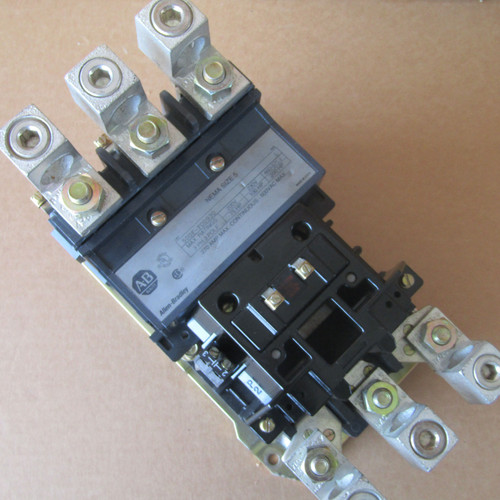 Allen-Bradley 500F-F0D930 Size 5 Contactor 270 Amp 3 Pole 120VAC - Used
