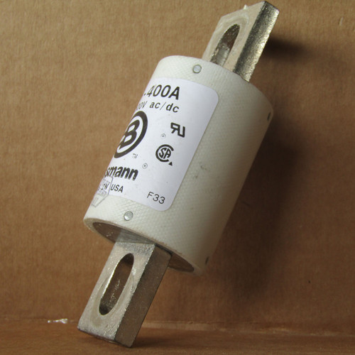 Buss FWH-400A 400 Amp 500V AC/DC Semiconductor Fuse - Used