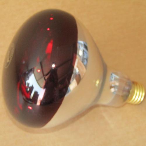 Feit Electric 250R40/R 250 Watt Heat Lamp 120V 2000 Hours Red - New