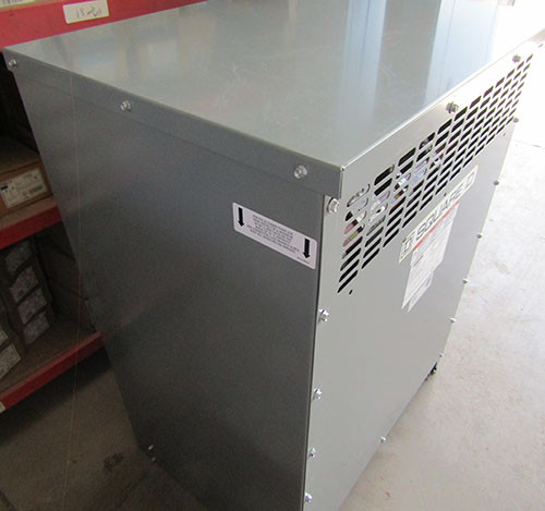 Square D EX75T1814HNP 75 KVA 480D to 480Y/277V 3PH Transformer N1 -New