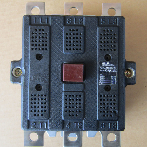 Fuji Electric 1NC4HO Type SC-10N Magnetic Contactor 3PH 200-240V Coil - Used