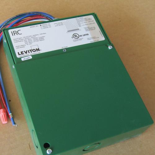 Leviton 200-MZD20-102 IRC Dim Room Control 0-10V 2-RLY 120-277 VAC Green - New