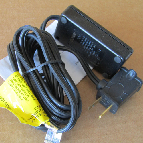 Leviton TBL03 Universal Tabletop Plug-In Lamp Dimmer, Black
