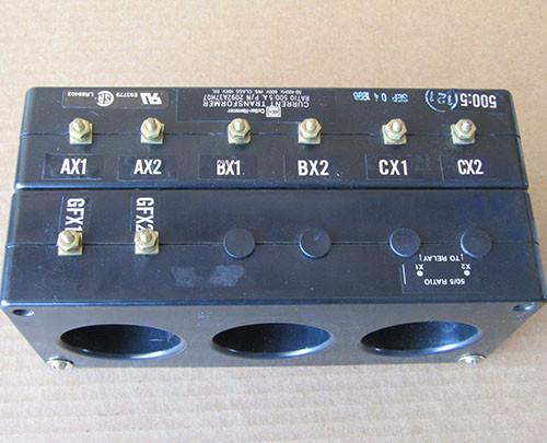 Cutler Hammer 2092A37H07 Current Transformer Ratio 500:5A 600V - Used