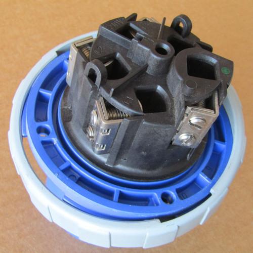 Leviton 5100B9W 100 Amp 3PH 120/208 VAC Flanged Inlet Blue - Used