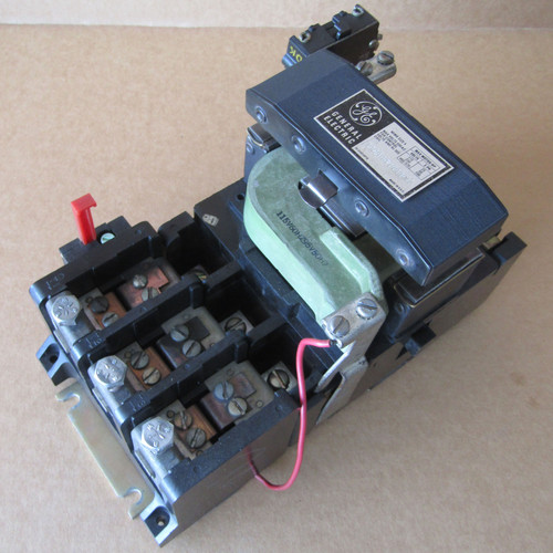 General Electric CR206F000BNA Size 4 Magnetic Starter 3PH 135A 115V Coil - Used