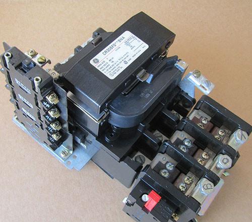 GE CR306F0**BNA Size 4 Magnetic Starter 3 Pole 120 Volt Coil - New