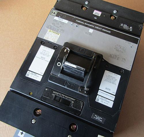 Square D MHL3610003IDCI680 3 Pole 1000 Amp 600VAC MC Circuit Breaker - Used
