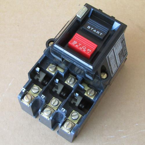 Square D 2510-MBG2 Size M-0 Manual Starter 600VAC - Used