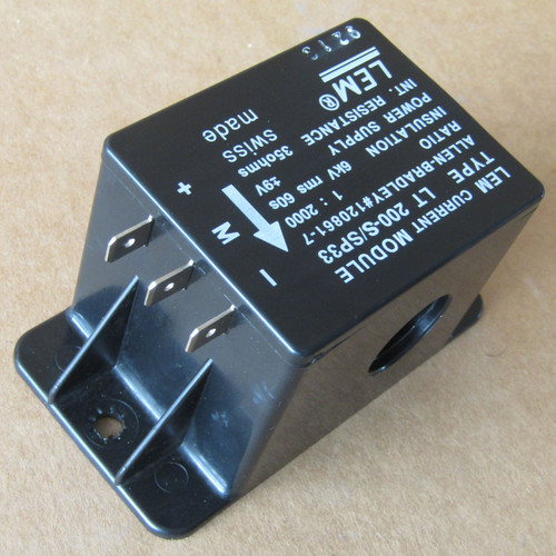 Allen-Bradley LT200-S/SP33 LEM Current Module 200A 1:2000 - Used