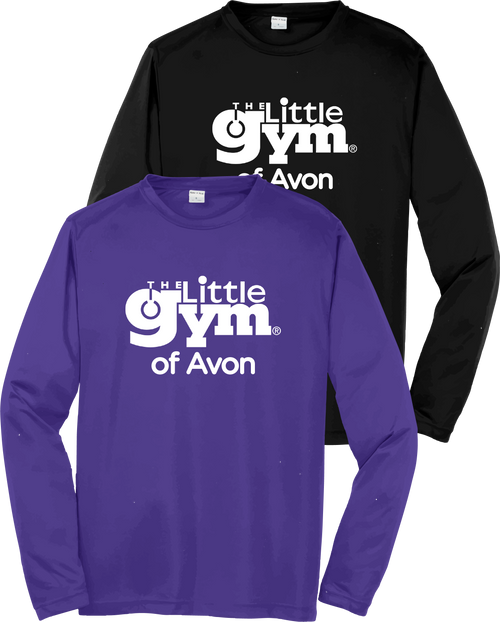 The Little Gym Performance Long Sleeve Tee (youth)
