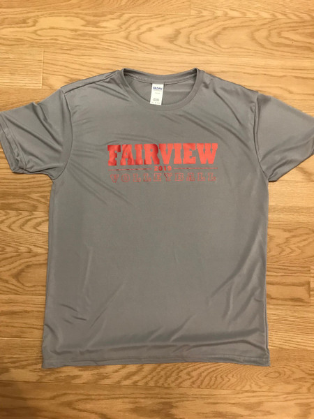 Fairview Volleyball 2019 Performance Tee(Adult)