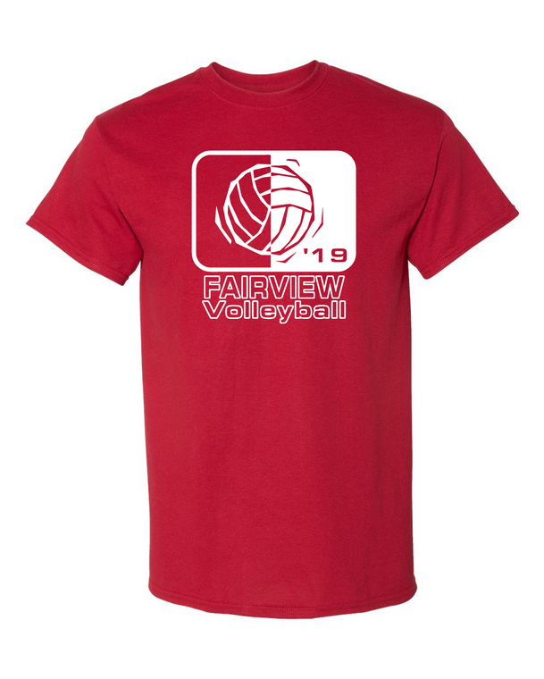 Fairview Volleyball 2019 Tee (Adult)